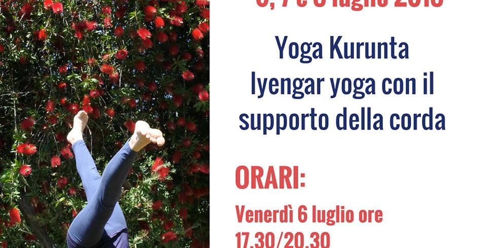 Seminario intensivo estivo di Iyengar Yoga