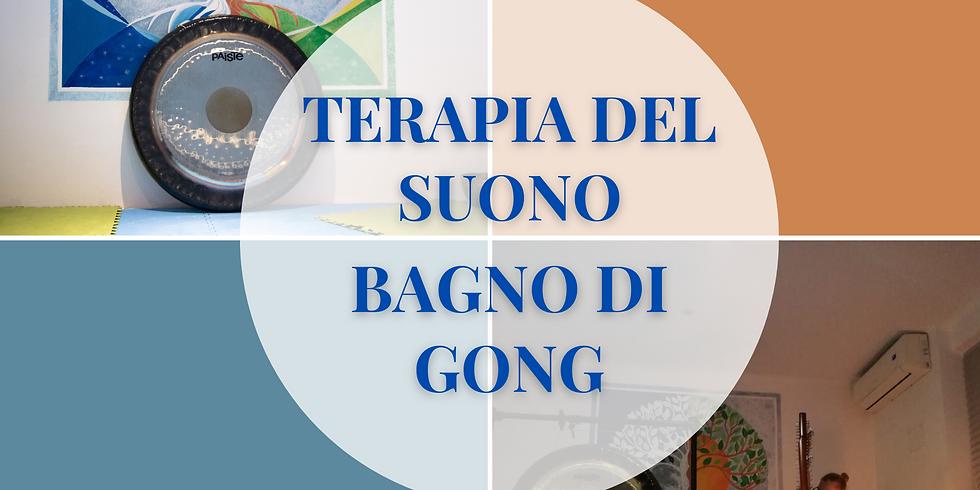 Terapia del suono - Bagno di Gong