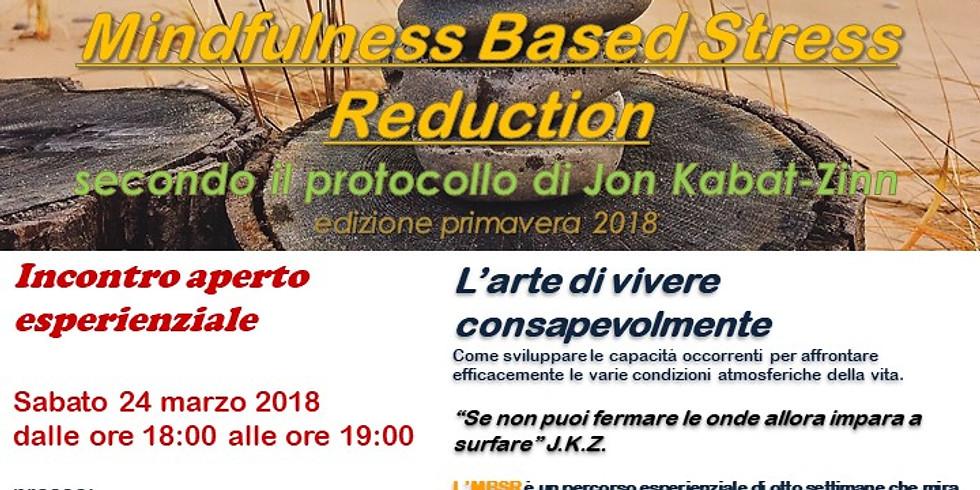 Presentazione gratuita Corso MBSR Mindfulness Based Stress Reduction
