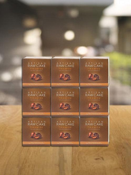 9 x Tiramisu Raw Cake   Infused with Maca