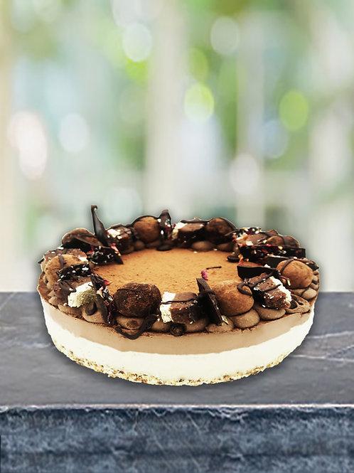 Large Tiramisu Raw Cake