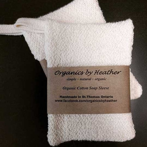 ORGANIC SOAP SLEEVE. Lather up in good health!
