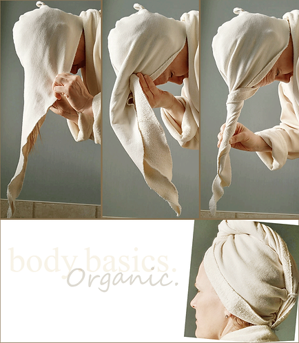 Organic Hair Towel