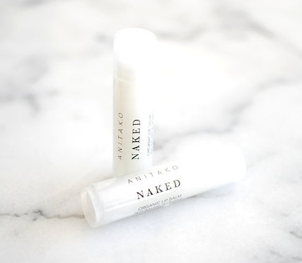 Naked Organic Lip Balm - UNSCENTED