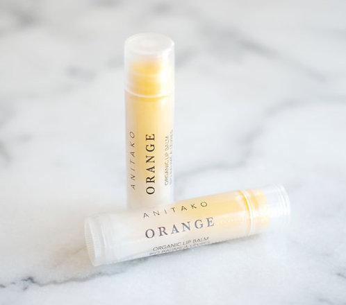 Organic Lip Balm - ORANGE
