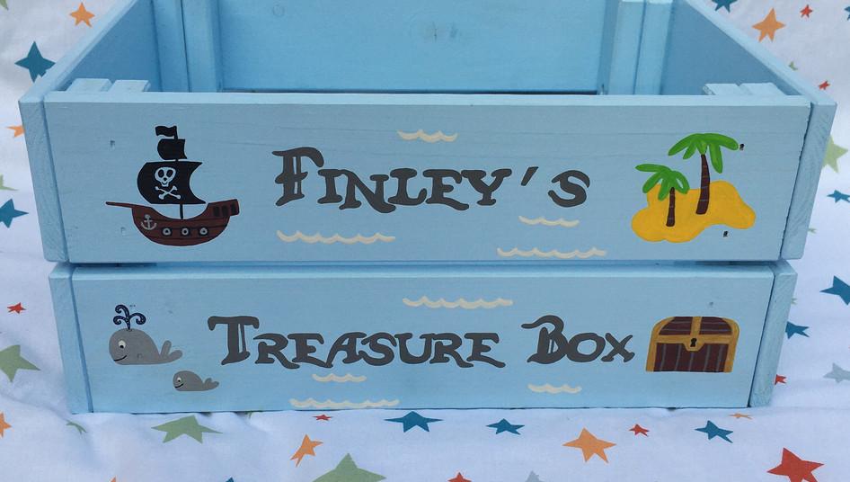 Pirate Birthday Crate