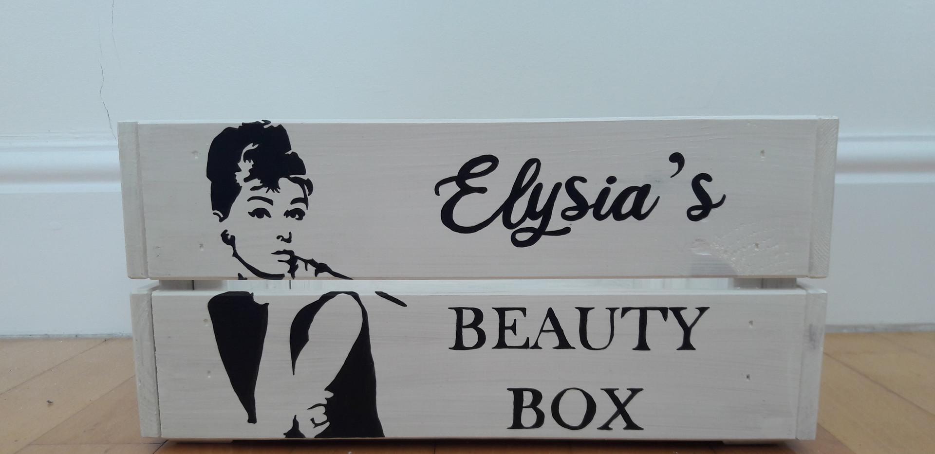 Beauty Box ready to be shipped