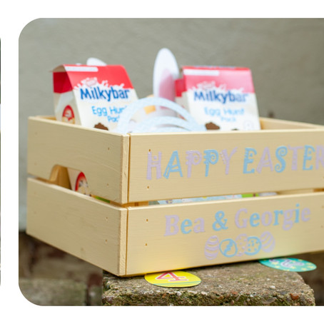 Egg-cellent Easter Crates and Eggs-traordinary things to put in them...