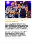 Ascona Jazz Festival, Swiss Jazz Award 2016, Patrick Bianco Cannonsoul