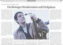 Pressebericht Patrick Bianco, Ein fleissiges Musikertalent auf Erfolgskurs