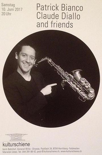 Patrick Bianco Saxophon