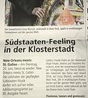 Claude Diallo New Orleans meets St. Gallen