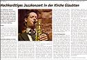 Patrick Bianco's Cannonsoul Konzerttour