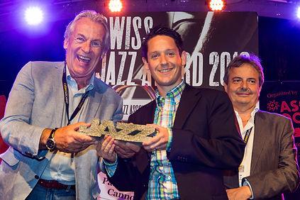Swiss Jazz Award 2016, Patrick Bianco & Pepe Lienhard, Cannonsoul
