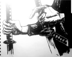samaurai swordsman