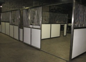 A1 Ag Horse Stall Open