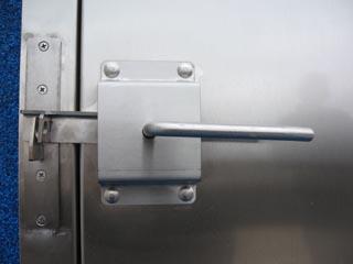 Door Thorp Lever Closed