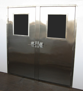 Door Double Stainless