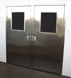 Door Double Stainless