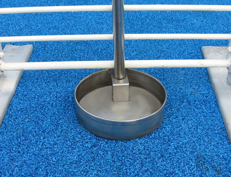 Round Water Pan - Up Close