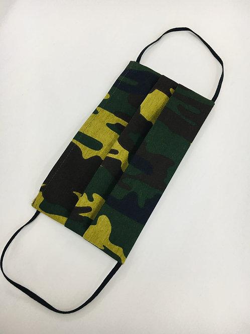 5 Stück Mund & Nasen Maske Camouflage