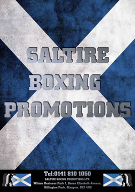 Saltire Boxing - Posters and Ticket Design