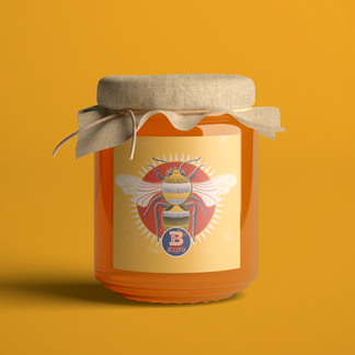 B Kind Honey Packaging