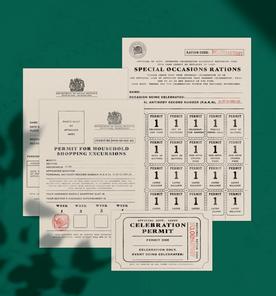 Lockdown Passport and Certificate