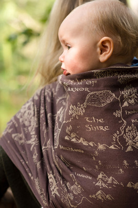Map of Middle Earth - Pattern Created for Jacquard Weave