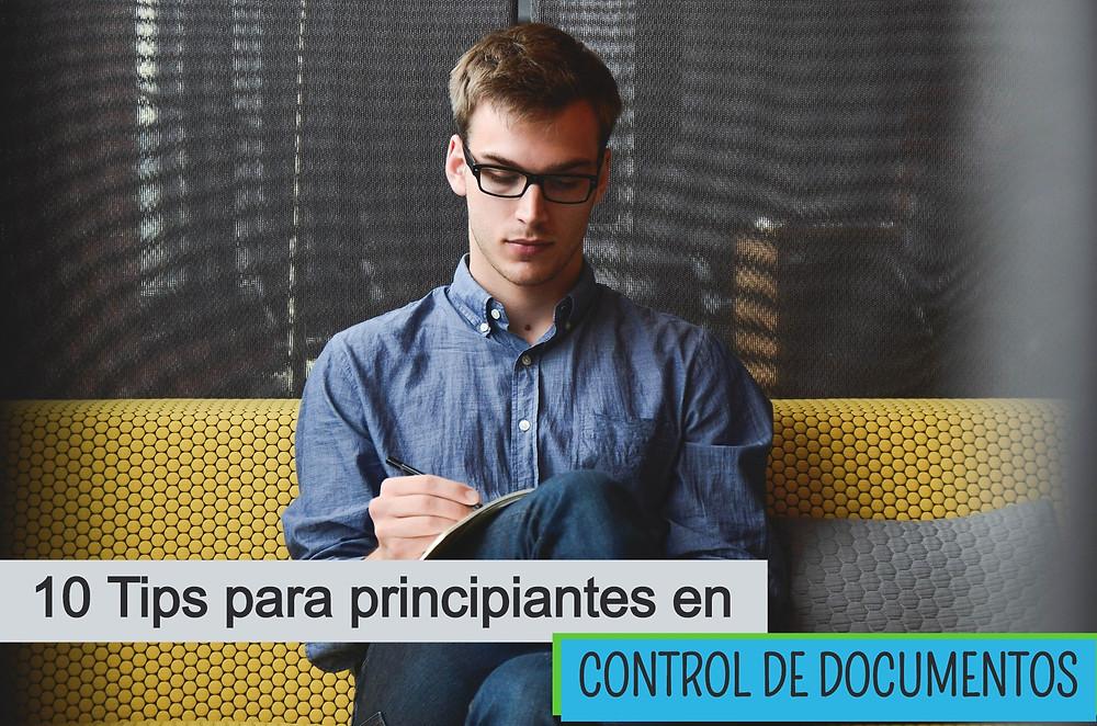 Tips para principiantes en control de documentos