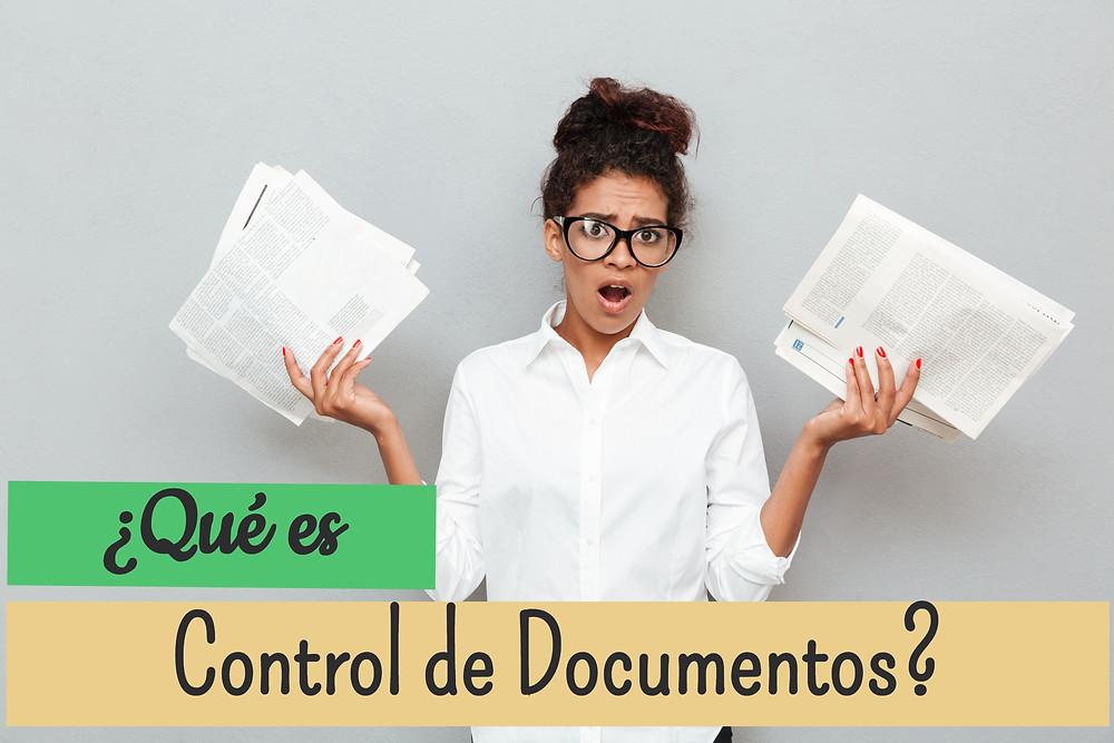 Que es control de documentos, control documental