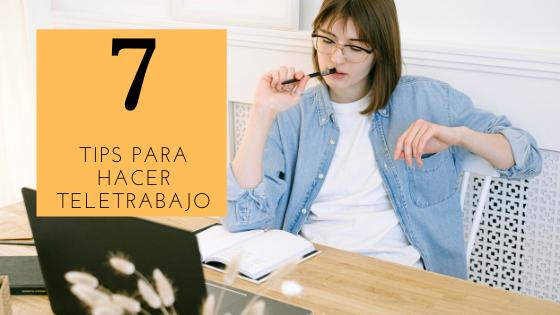 7 tips para hacer teletrabajo