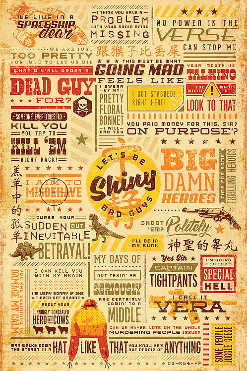 Firefly Serenity Sci-Fi Quotes