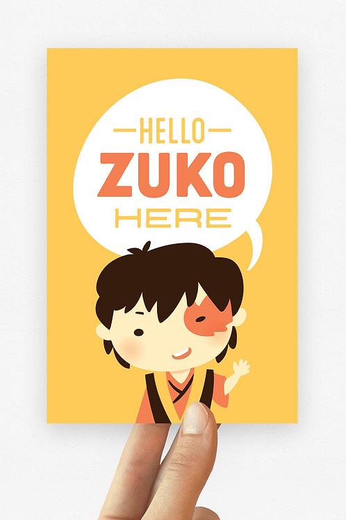 Mini! Zuko Hero