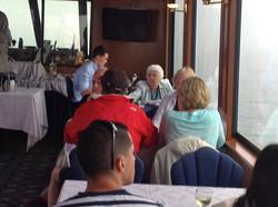 Clients enjoying the cruise