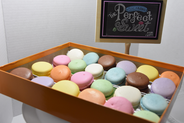 24 pack macarons