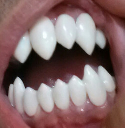 Classic Vampire Fangs to Fit