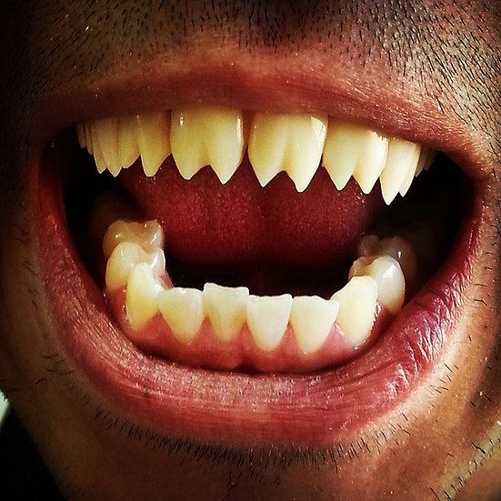 """Piranha""  Mouth Upper"