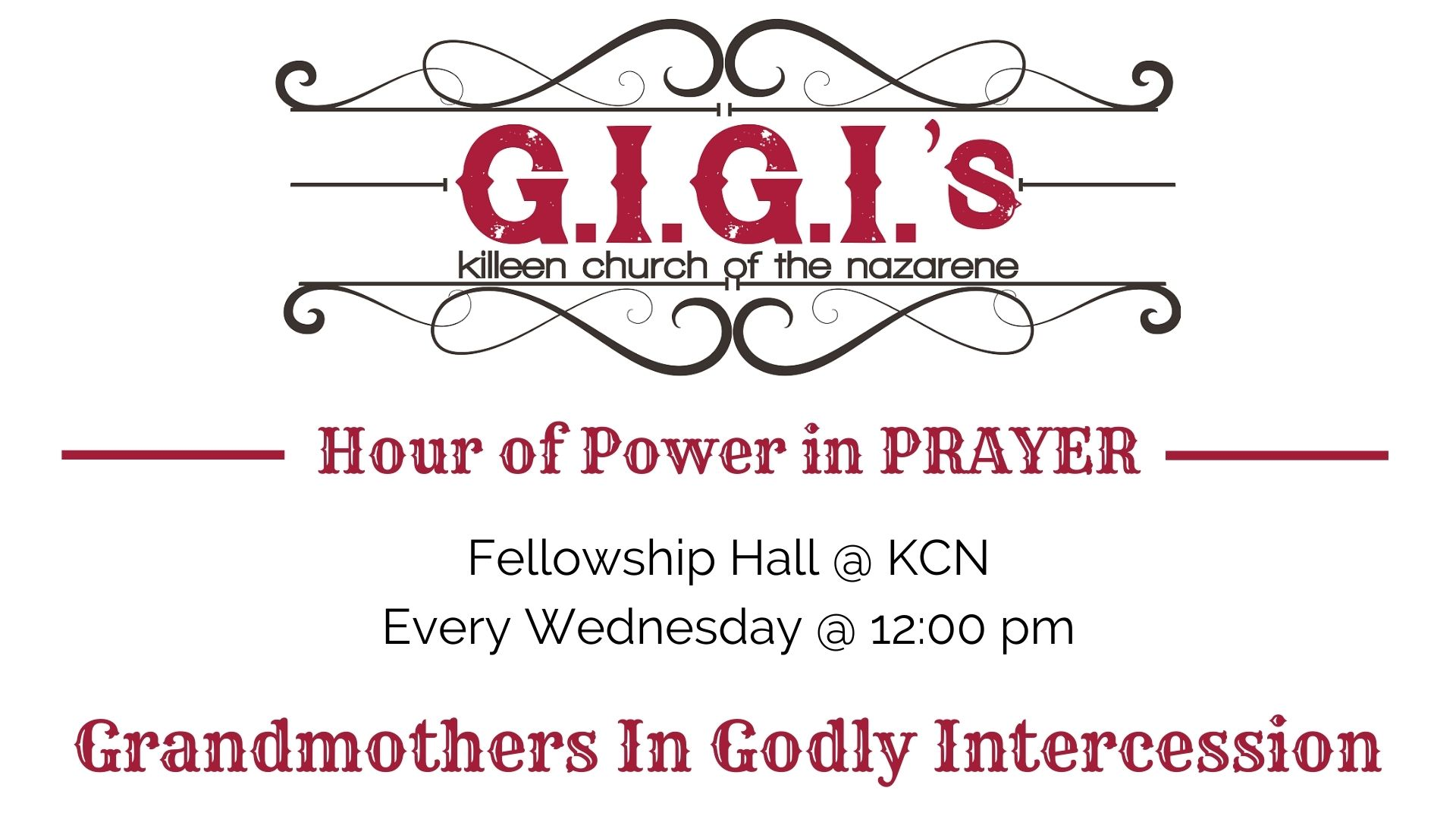 GIGI's Prayer Time