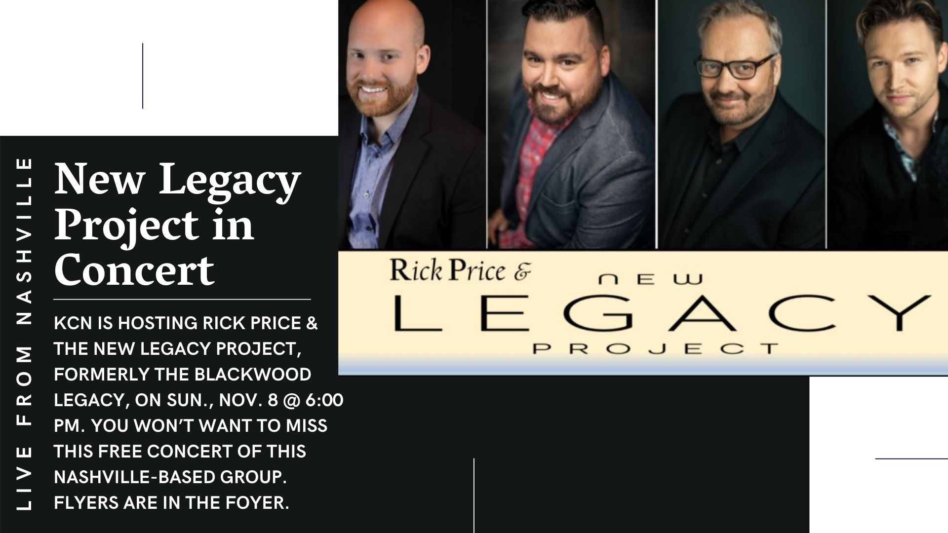 New Legacy Project Concert