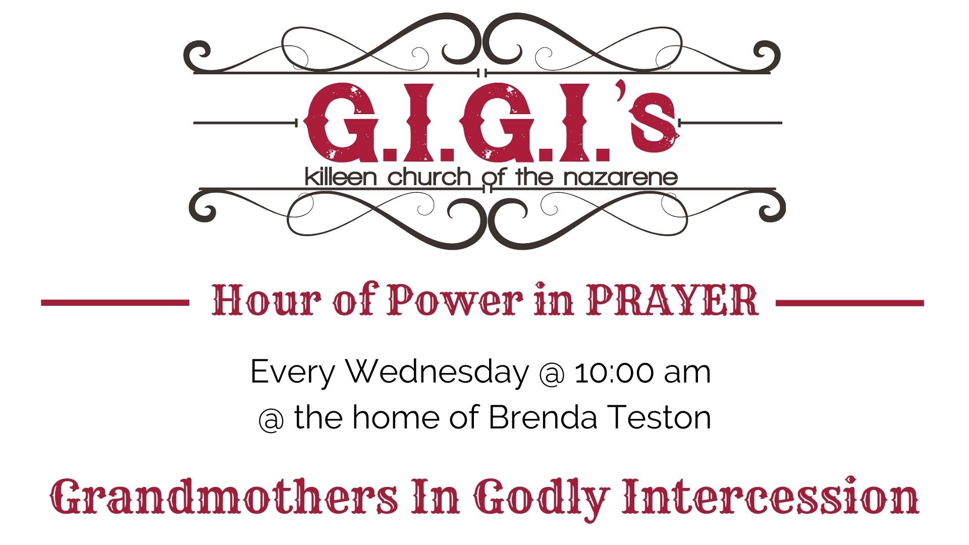 G.I.G.I.'s Prayer Time