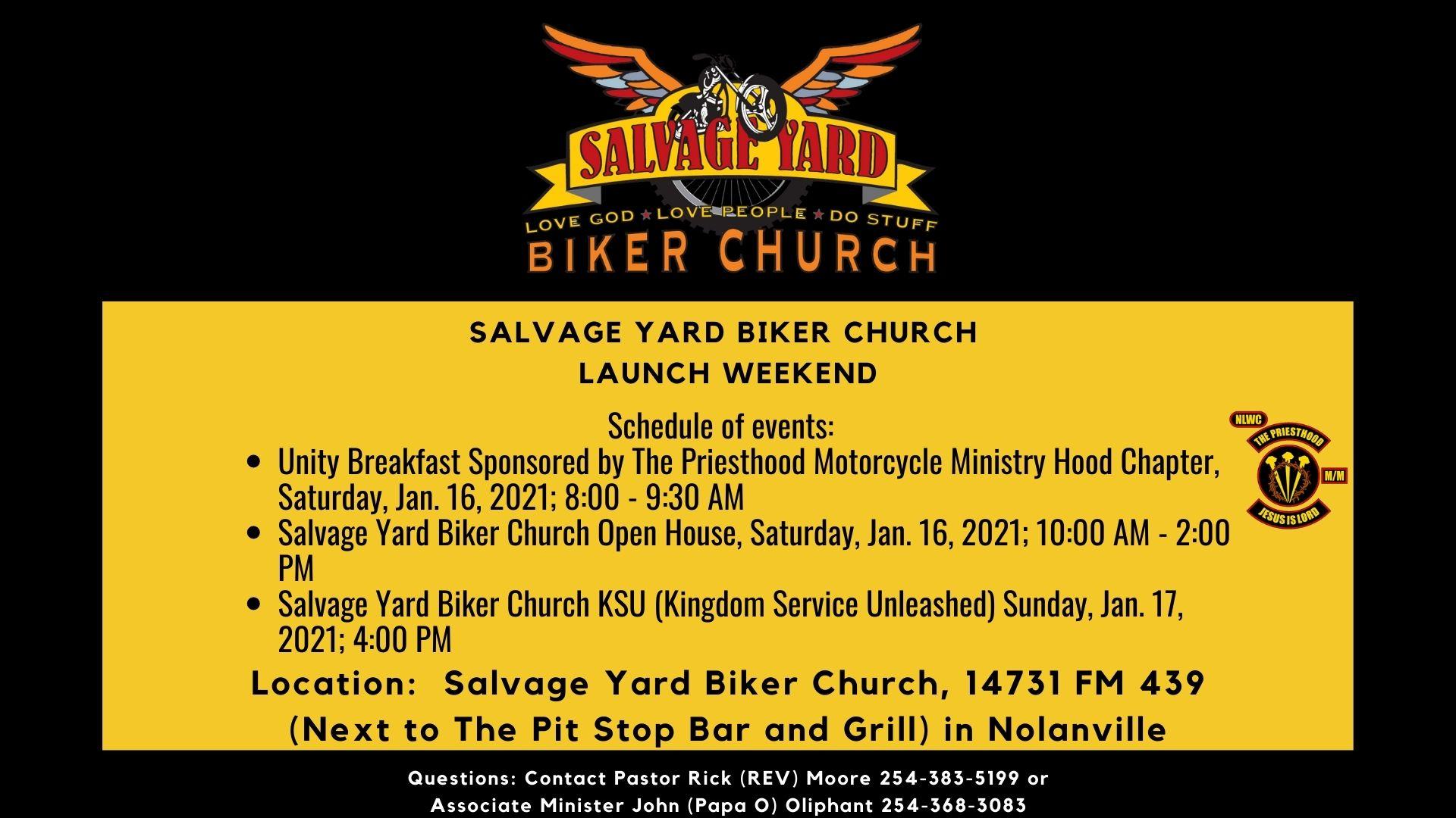 SYBC Launch Weekend