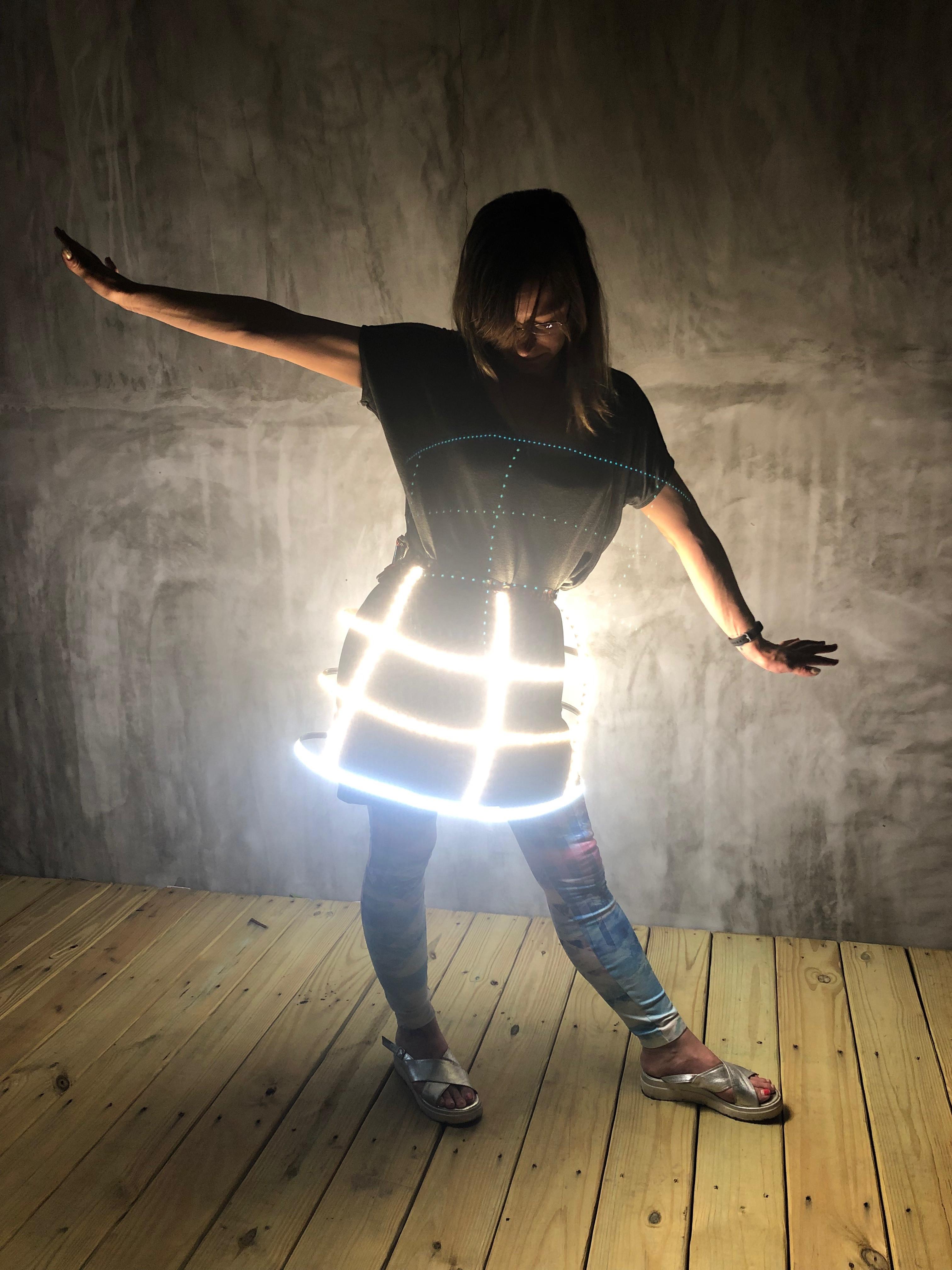 Advanced Illuminated Skirt Workshop