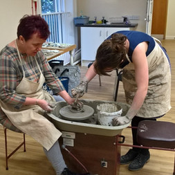 Working in clay