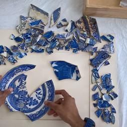 Creative workshops at Manchester Museum exploring the theme of heirlooms