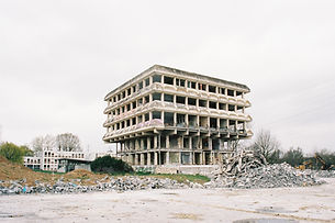 Art contemporain Ruine