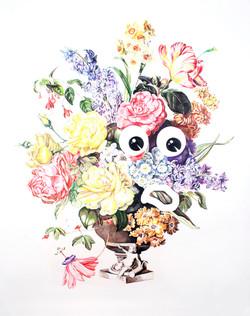Composition Florale : smiley