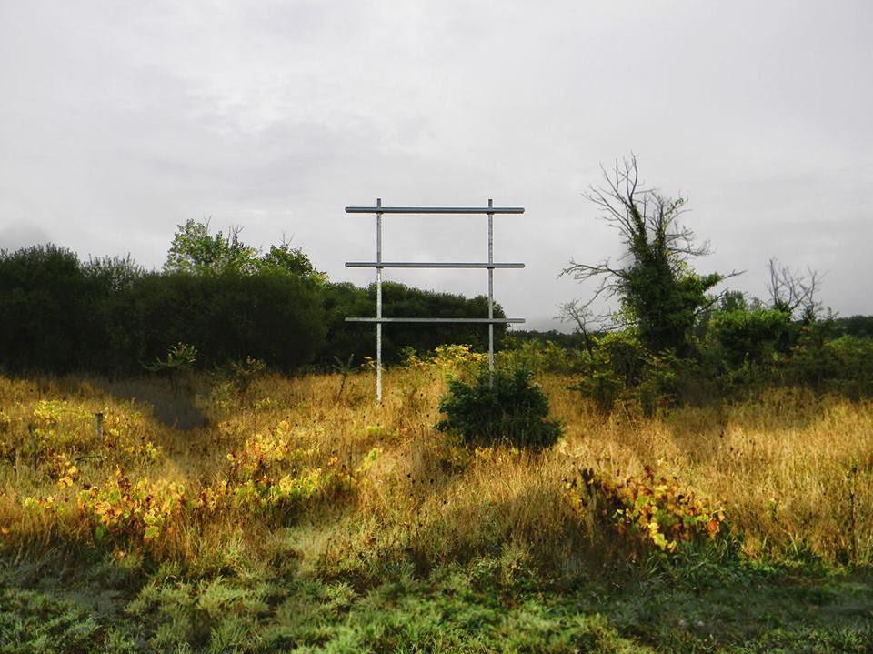 """Ruines modernes de """"demi tour de France"""""""