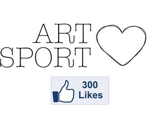 300 Facebook likes!