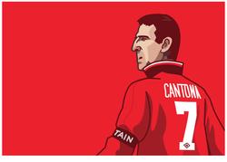 Manchester united legend Eric Canton
